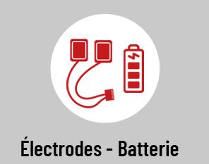 Electrodes - Batterie