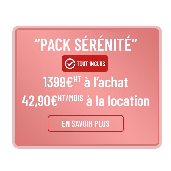 Pack défibrillateur sérénité