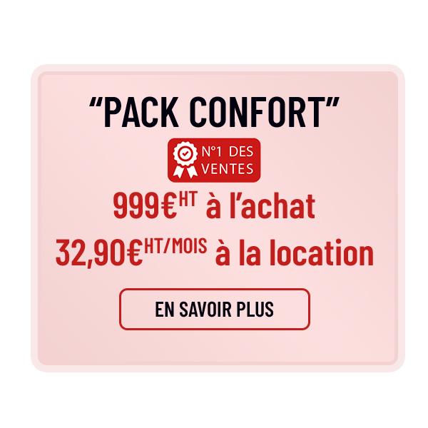 Pack défibrillateur Confort